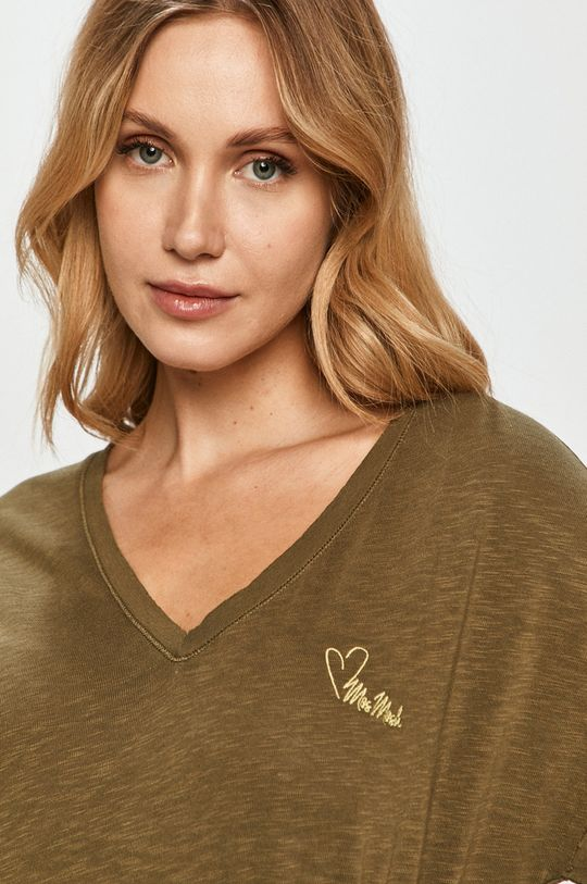 oliwkowy Mos Mosh - T-shirt
