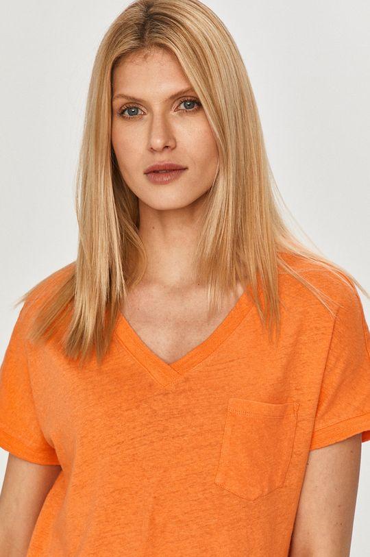 oranžová Mos Mosh - Tričko Dámsky