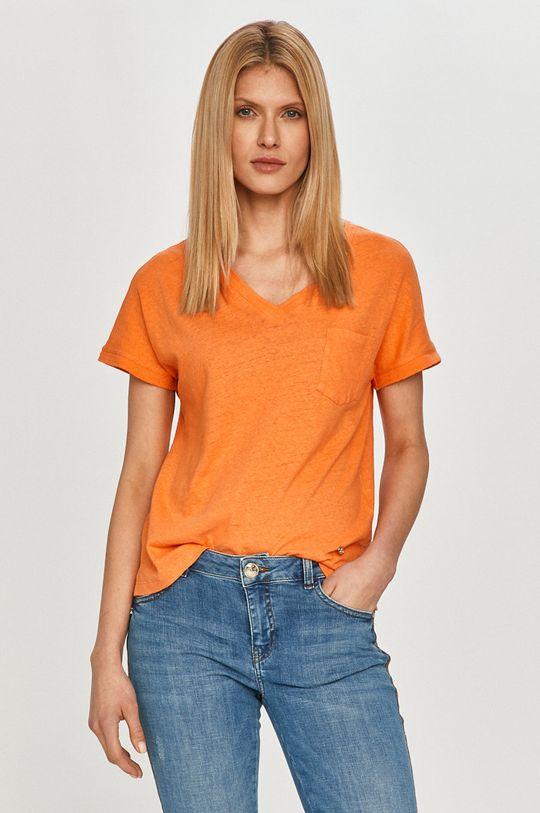 oranžová Mos Mosh - Tričko