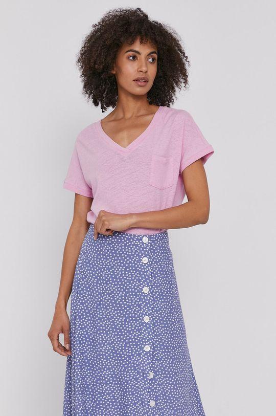 różowy Mos Mosh - T-shirt