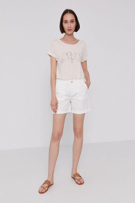Mos Mosh - T-shirt kremowy
