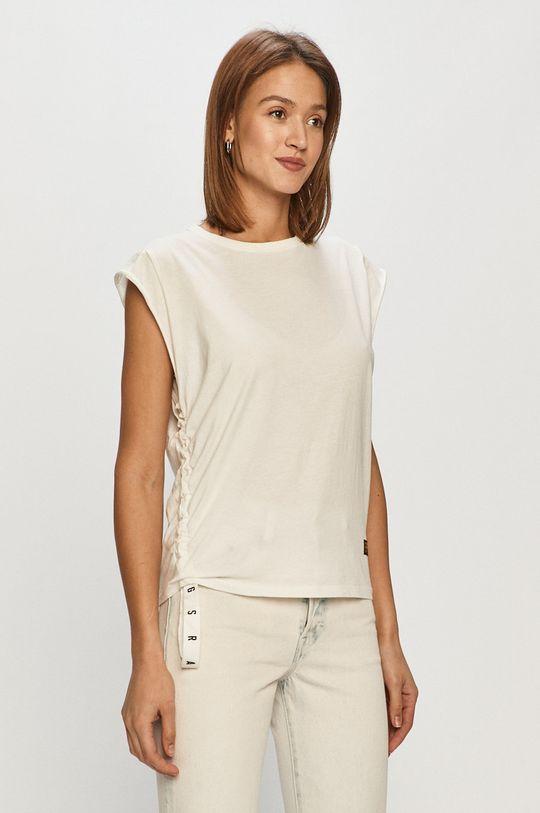 biały G-Star Raw - T-shirt Damski