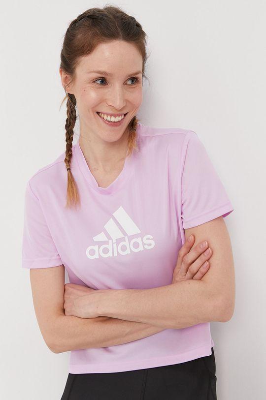 winogronowy adidas - T-shirt Damski