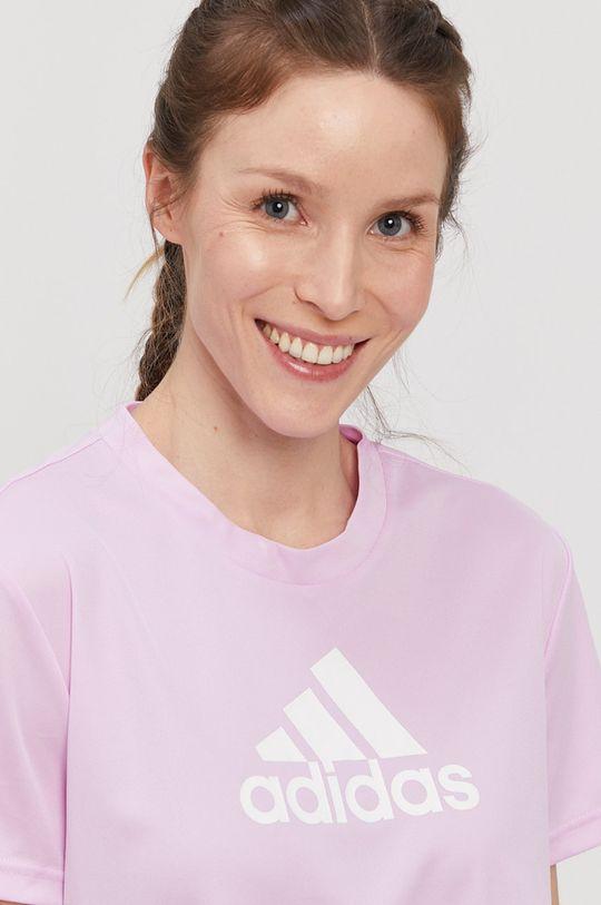 winogronowy adidas - T-shirt