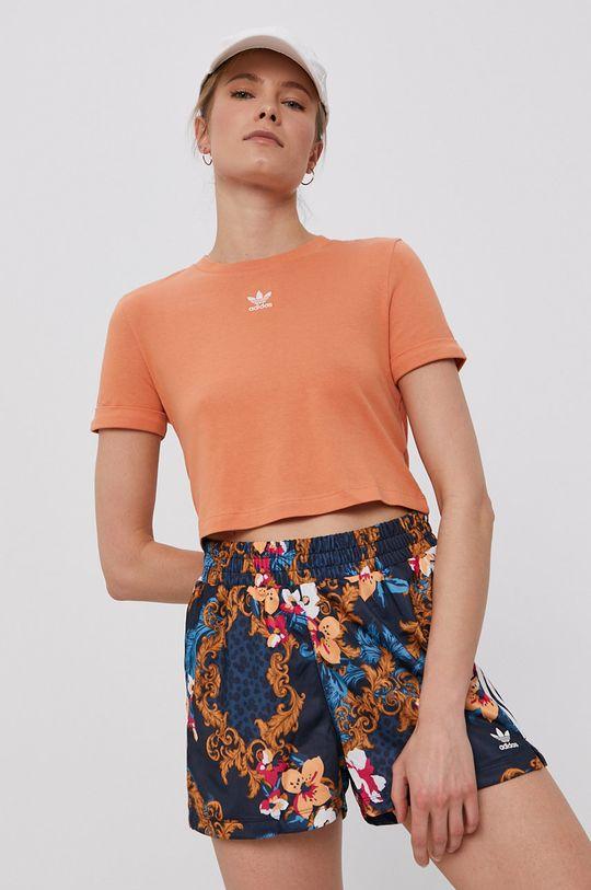 portocaliu adidas Originals - Tricou De femei