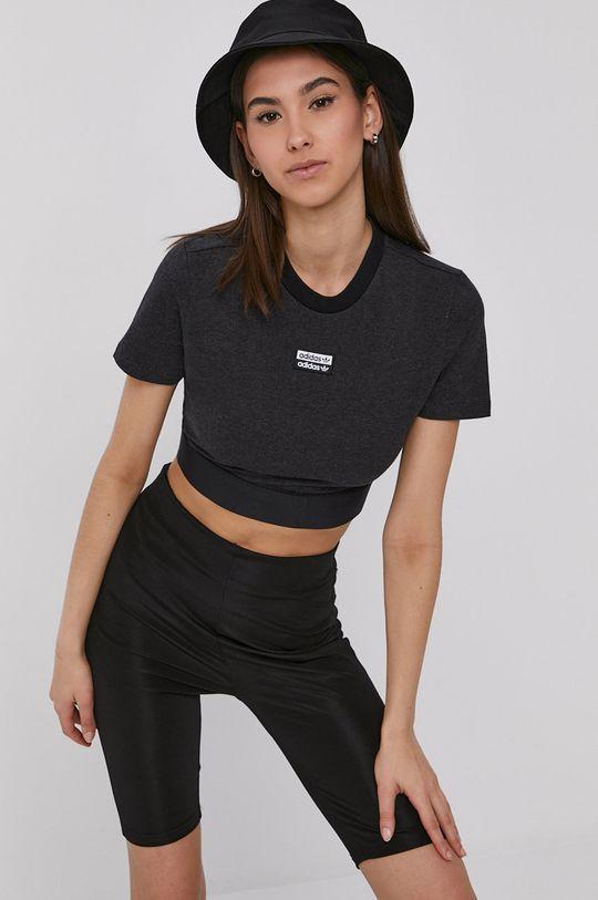 negru adidas Originals - Tricou De femei