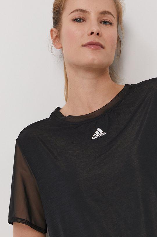 adidas Performance - T-shirt czarny