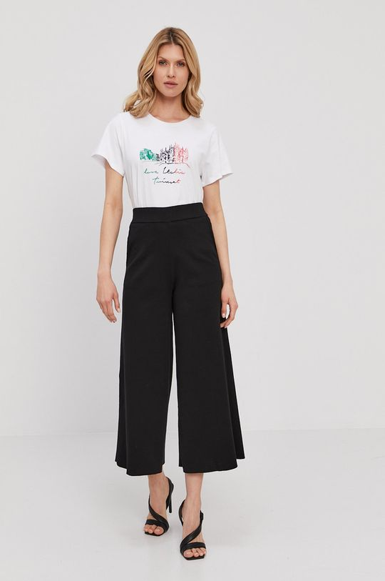 Twinset - T-shirt biały