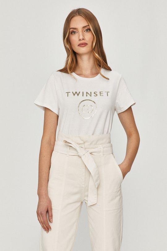 biela Twinset - Tričko Dámsky