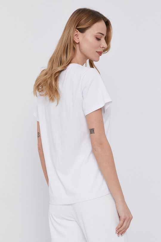 Twinset - Tricou  Materialul de baza: 100% Bumbac Broderie: 80% Acril, 20% Lana