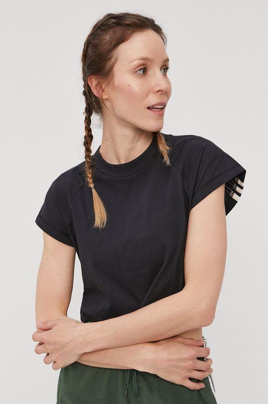 czarny adidas Performance - T-shirt Damski
