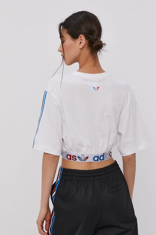 adidas Originals - T-shirt 48 % Bawełna, 52 % Poliester z recyklingu