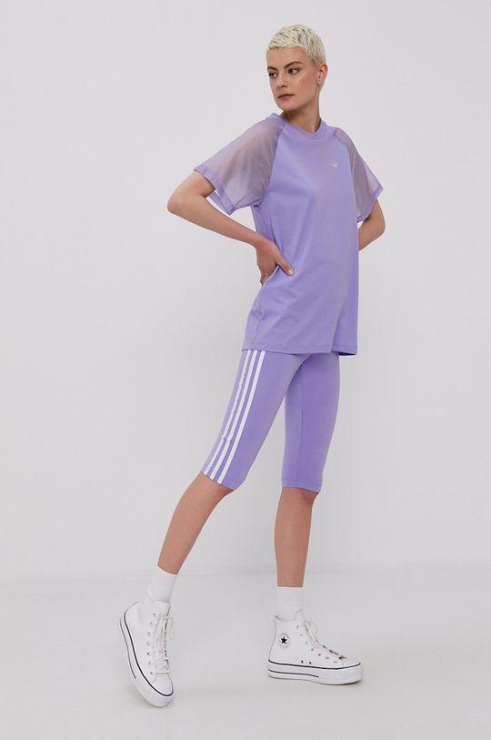 adidas Originals - T-shirt winogronowy