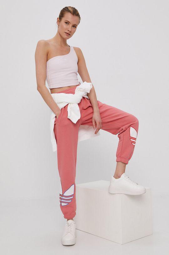 adidas Originals - Top pastelowy różowy