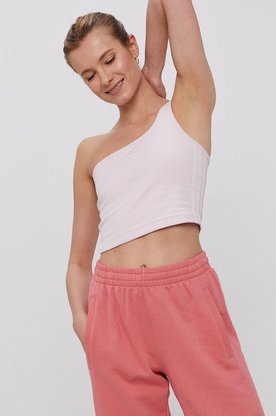 pastelowy różowy adidas Originals - Top