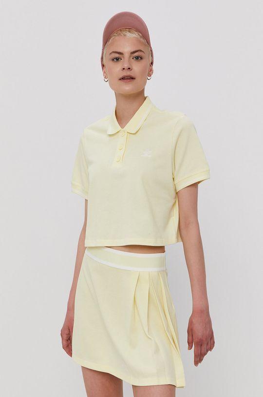 żółty adidas Originals - T-shirt Damski