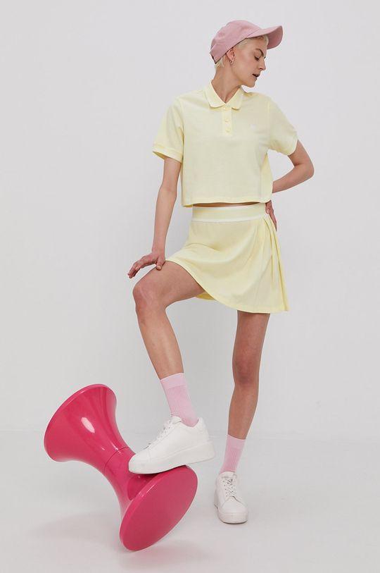 adidas Originals - T-shirt żółty