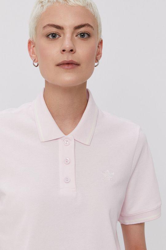 różowy adidas Originals - T-shirt