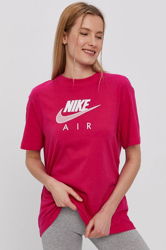 fuksia Nike Sportswear - Tričko Air W Dámsky