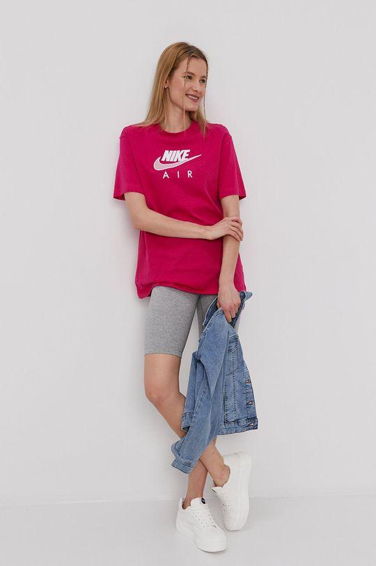 Nike Sportswear - Tričko Air W fuksia