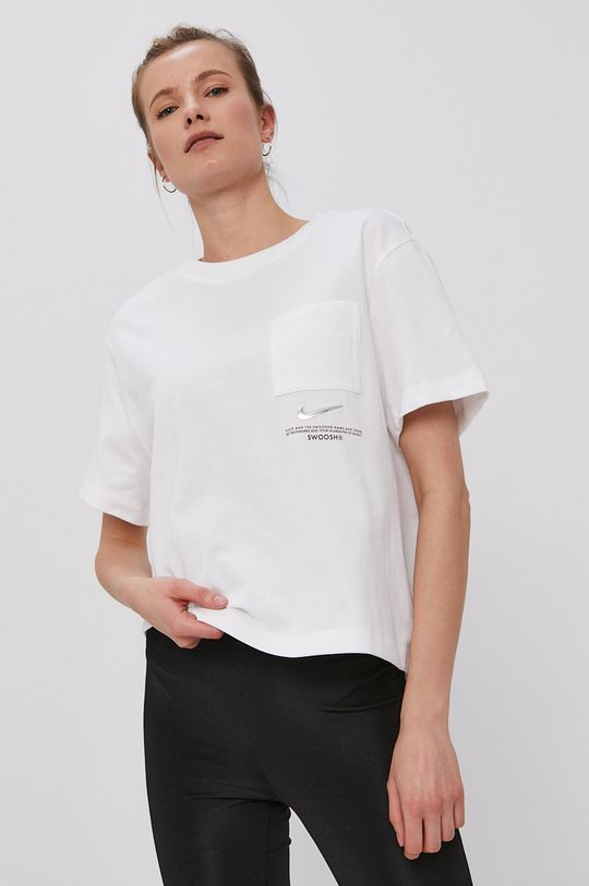 alb Nike Sportswear - Tricou
