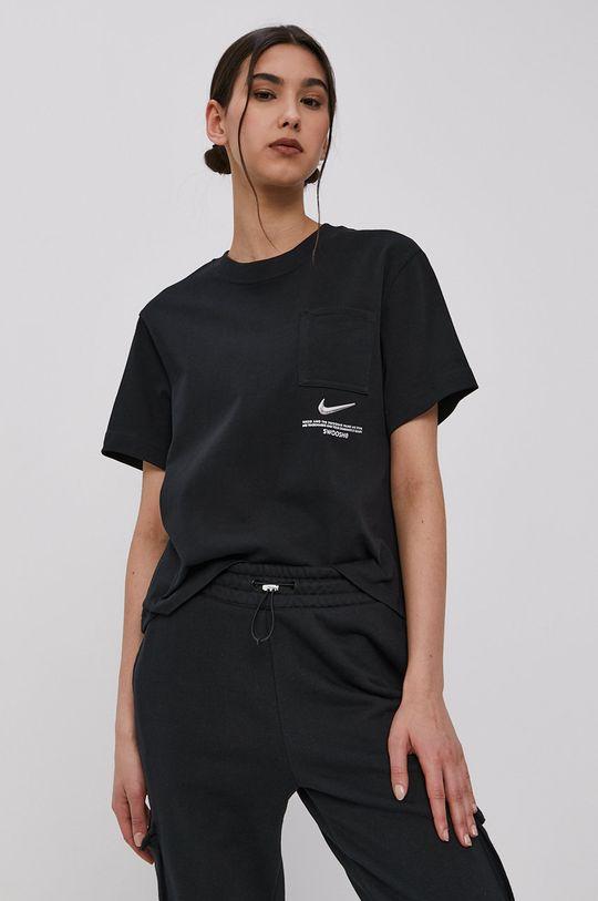 čierna Nike Sportswear - Tričko Dámsky