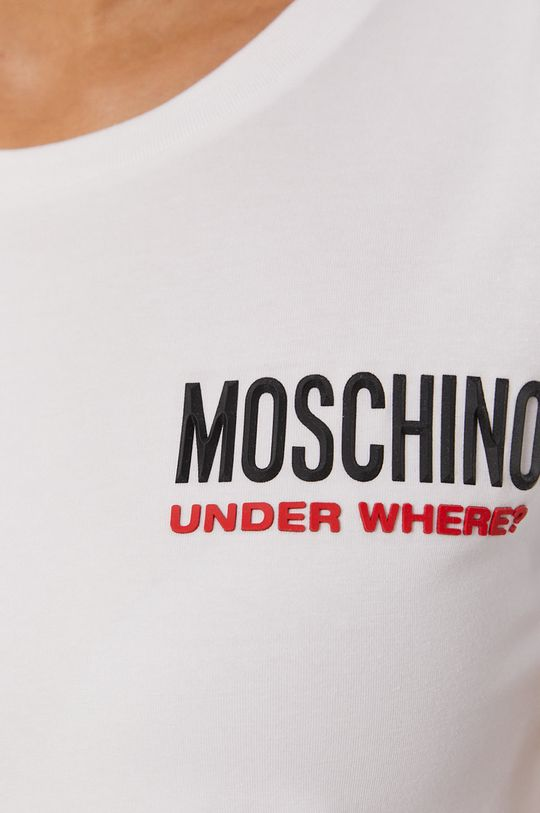 bílá Moschino Underwear - Tričko