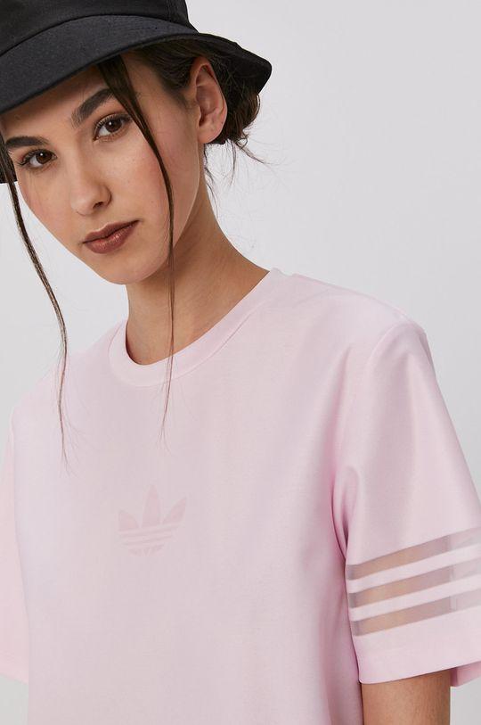 ružová adidas Originals - Tričko