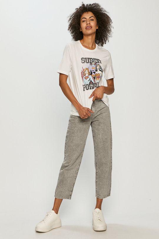 biały Only - T-shirt Damski
