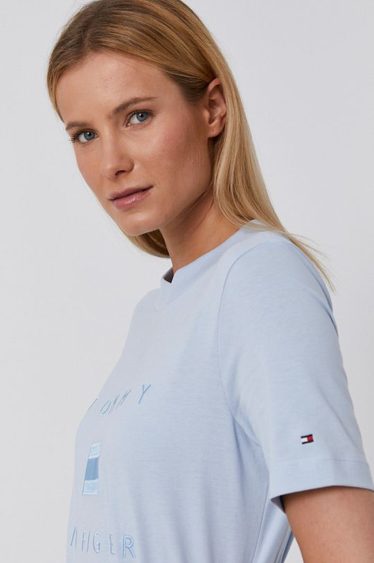 blady niebieski Tommy Hilfiger - T-shirt