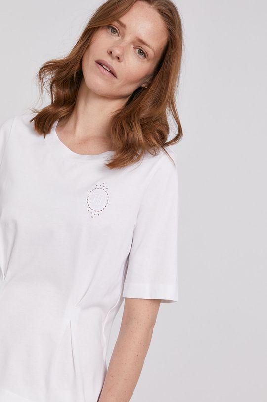 biały Tommy Hilfiger - T-shirt