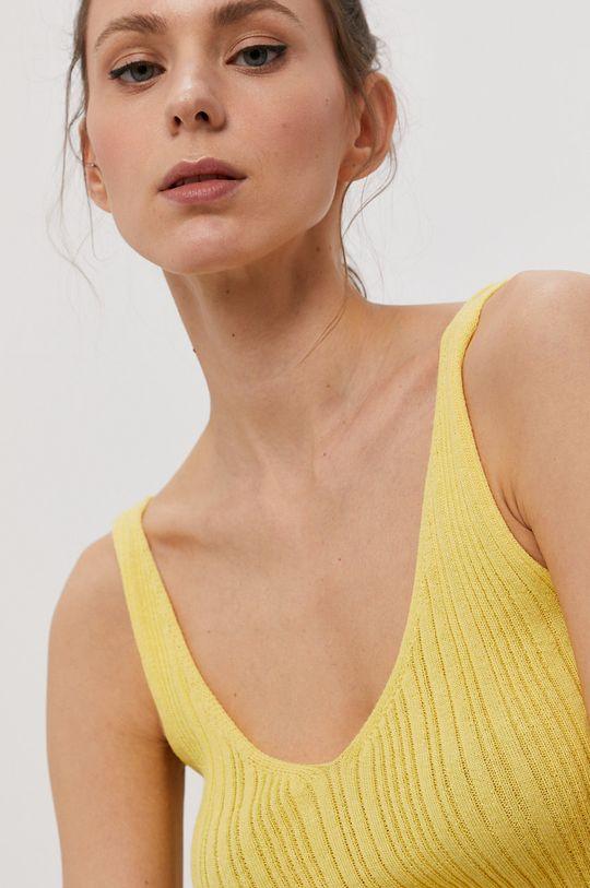 żółty Only - Top Damski