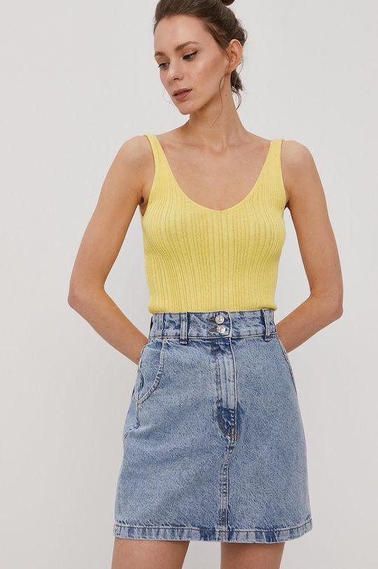 Only - Top żółty