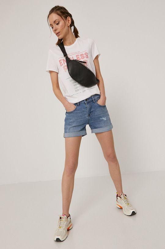 Only - T-shirt biały