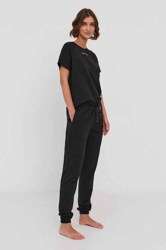 Calvin Klein Underwear - T-shirt piżamowy czarny