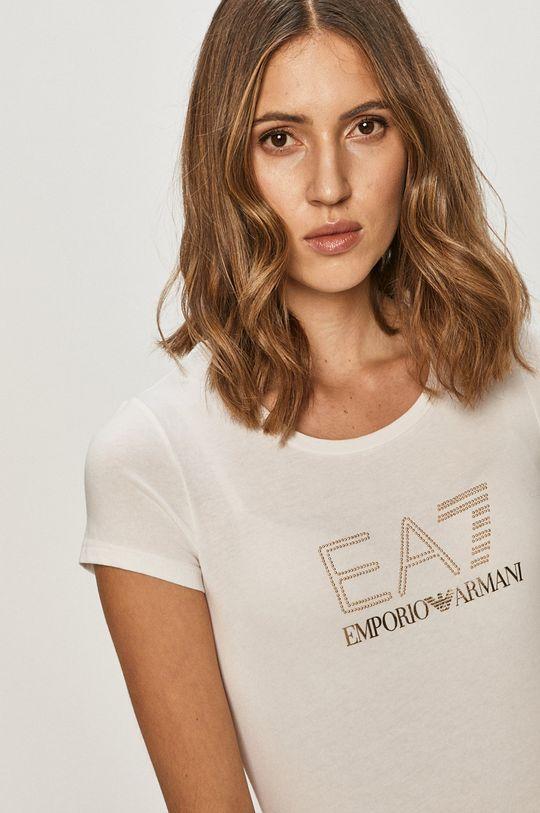 bílá EA7 Emporio Armani - Tričko