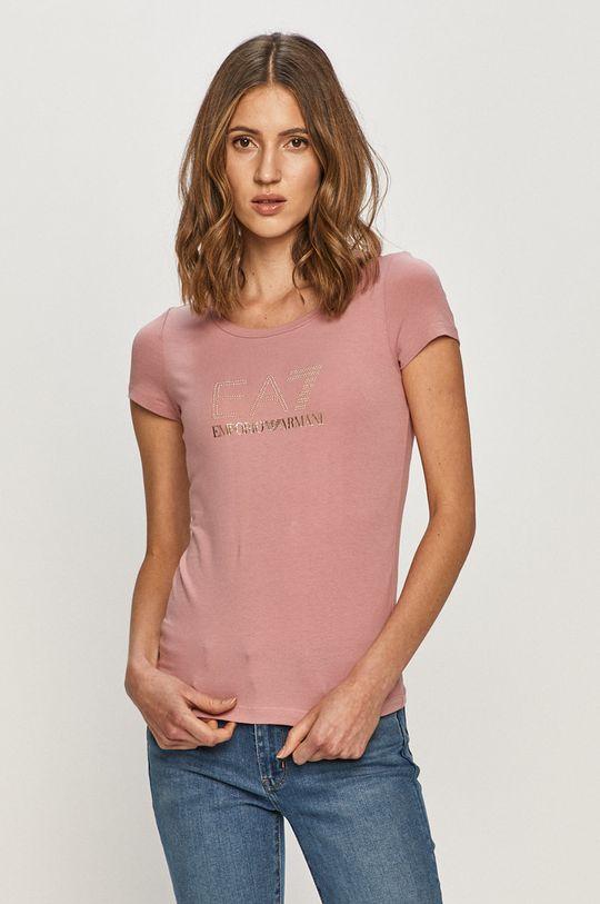 roz EA7 Emporio Armani - Tricou De femei