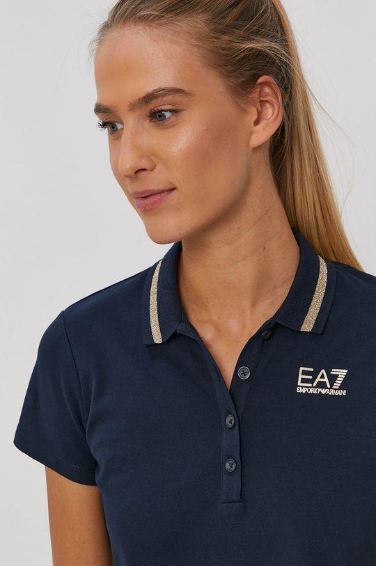 námořnická modř EA7 Emporio Armani - Tričko Dámský