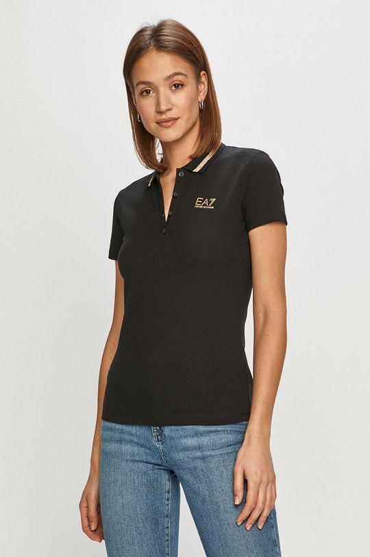 negru EA7 Emporio Armani - Tricou De femei