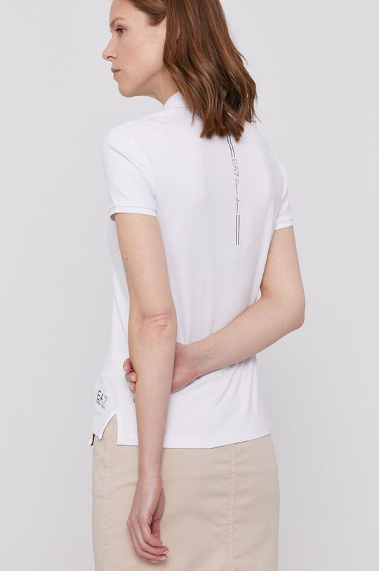 EA7 Emporio Armani - T-shirt Materiał zasadniczy: 94 % Bawełna, 6 % Elastan, Ściągacz: 100 % Bawełna