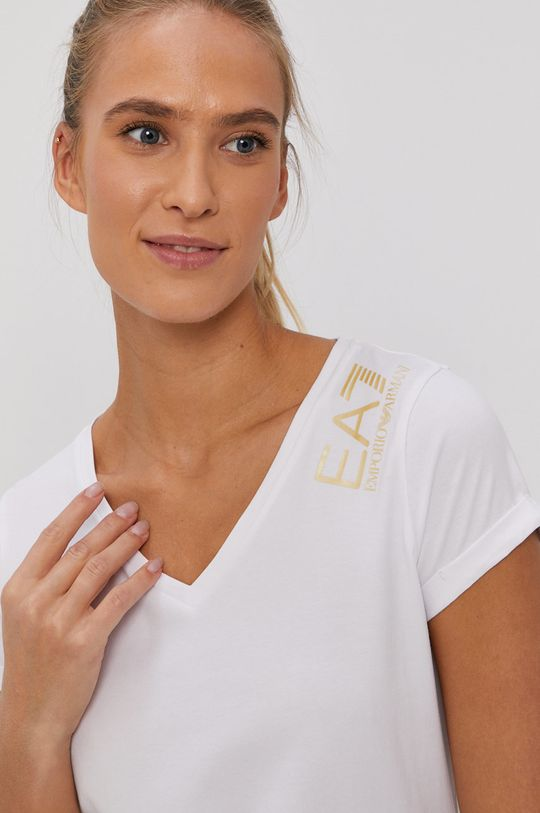 EA7 Emporio Armani - Tričko bílá
