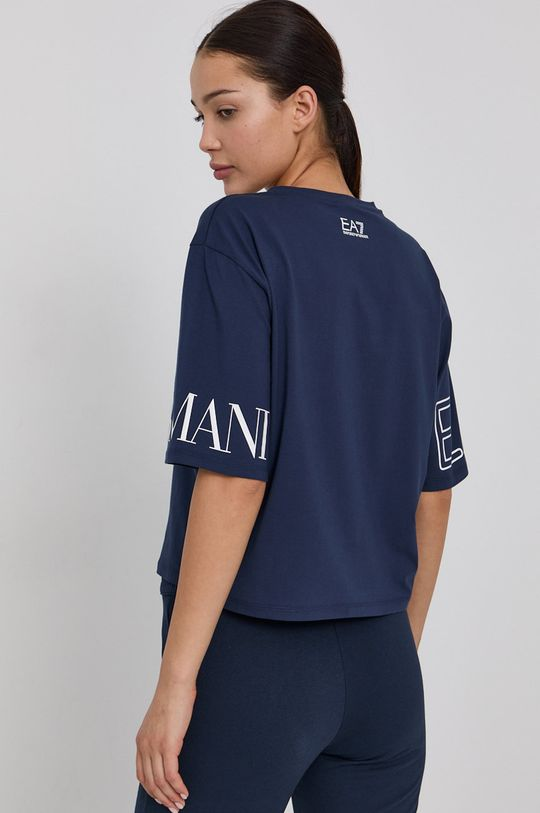 EA7 Emporio Armani - T-shirt 95 % Bawełna, 5 % Elastan