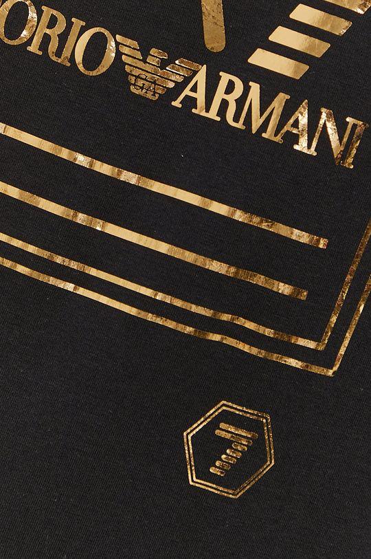 czarny EA7 Emporio Armani - T-shirt
