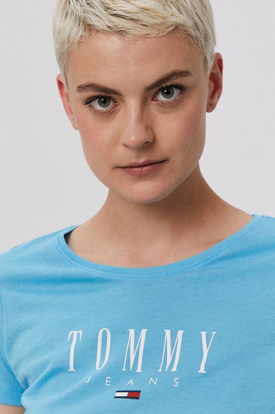 světle modrá Tommy Jeans - Tričko
