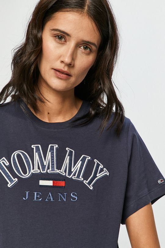 tmavomodrá Tommy Jeans - Tričko