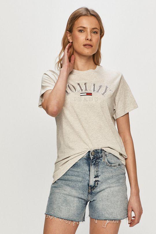 sivá Tommy Jeans - Tričko Dámsky