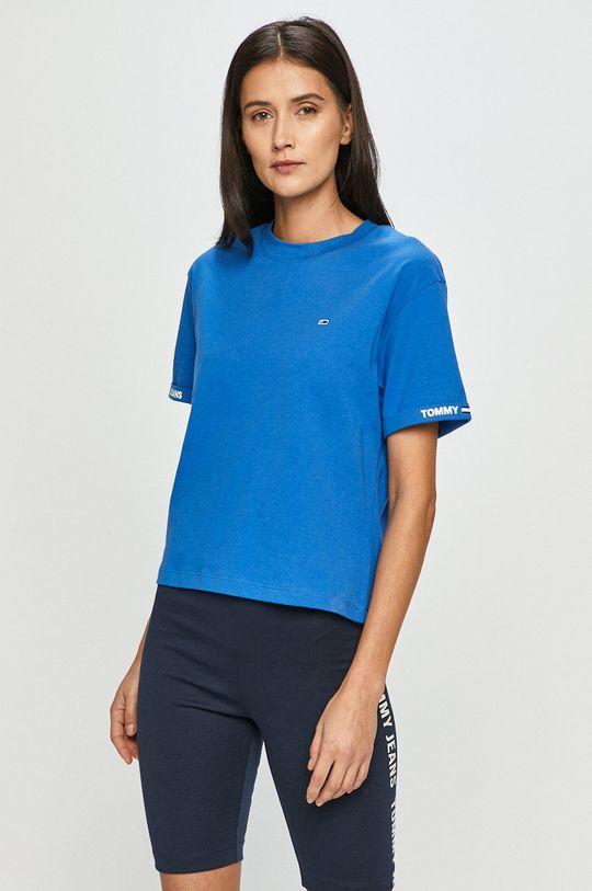 modrá Tommy Jeans - Tričko Dámský