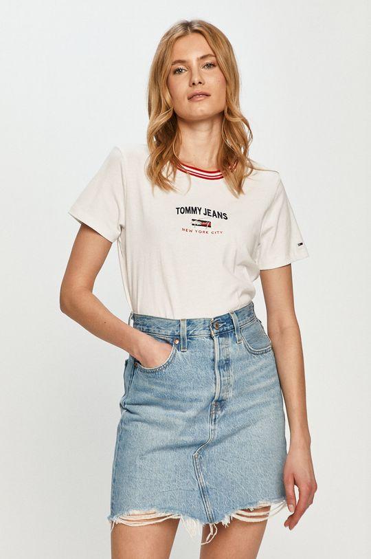 bílá Tommy Jeans - Tričko Dámský
