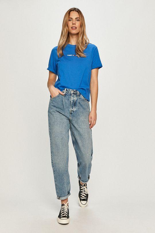 Tommy Jeans - Tričko modrá