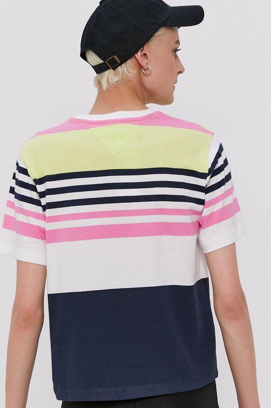 Tommy Jeans - T-shirt 92 % Bawełna, 8 % Poliester